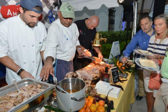 Raúl de Molina fue uno de los jueces de Swine & Wine, que este año prese...