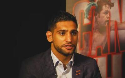 """Amir Khan: """"Quiero demostrar que no soy el menos favorito y soy el campeón"""""""