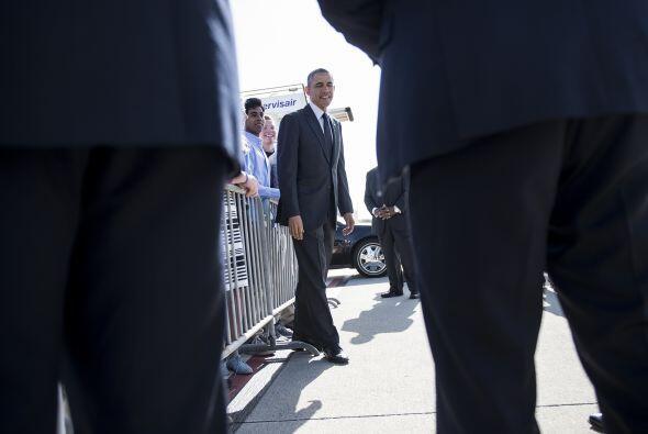 Es el primer viaje de Obama como presidente a Arkansas, un estado tradic...