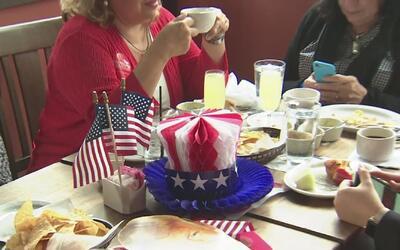 Republicanos celebraron la posesión del presidente Donald Trump en el es...