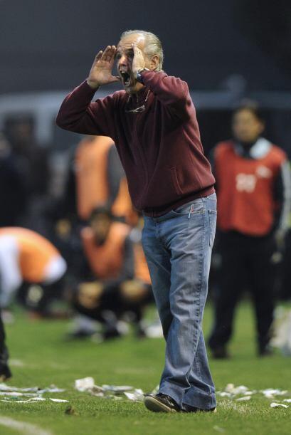Alejandro Sabella dirige a Estudiantes y es uno de los entrenadores que...