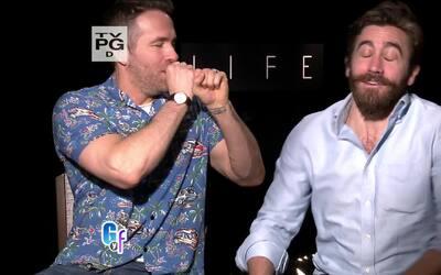 No te pierdas las ocurrencias de estos dos galanes de Hollywood mientras...