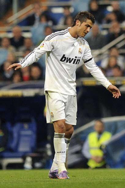 Tampoco Cristiano Ronaldo, algo individualista y poco efectivo.