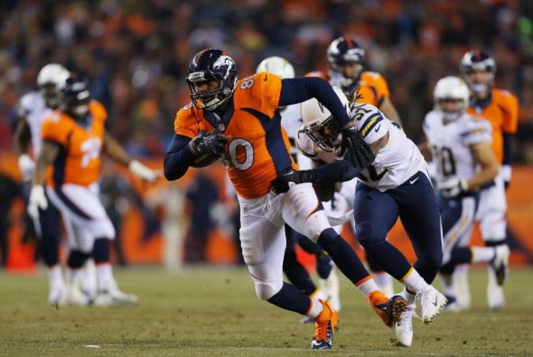 9. Julius Thomas, ala cerrada Denver Broncos.