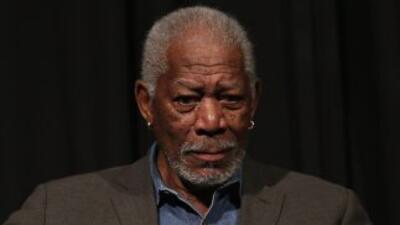 El actor estadounidense Morgan Freeman.
