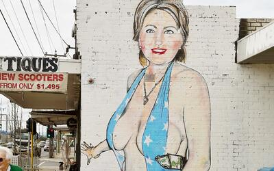 Hillary Grafiti