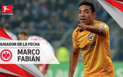 Marco Fabián sigue consechando reconocimientos con el Eintracht F...