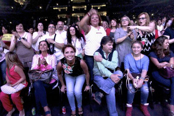 El fin de semana se fueron al concierto de Alejandro Fernández.