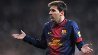 En caso de confirmarse lo que dicen los medios españoles, Messi explotó...