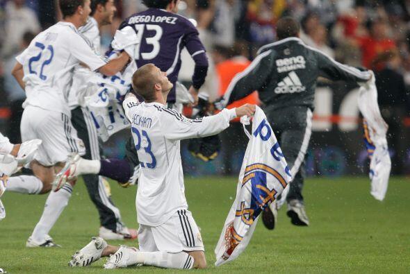 En su etapa como centrocampista del Madrid solo conquistó la Liga...