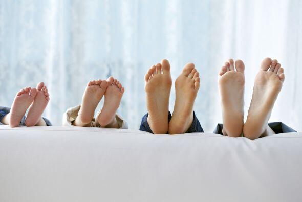 Casi una cuarta parte de los huesos del cuerpo se encuentran en los pies...