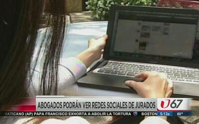Abogados verán redes sociales de jurados