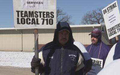 Trabajadores de Railroad Services exigen con huelga mejores condiciones...