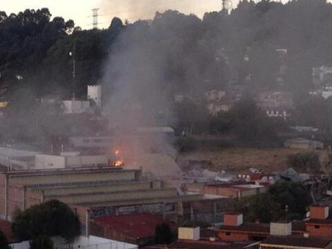 Esta mañana, un camión transportador de gas explotó...