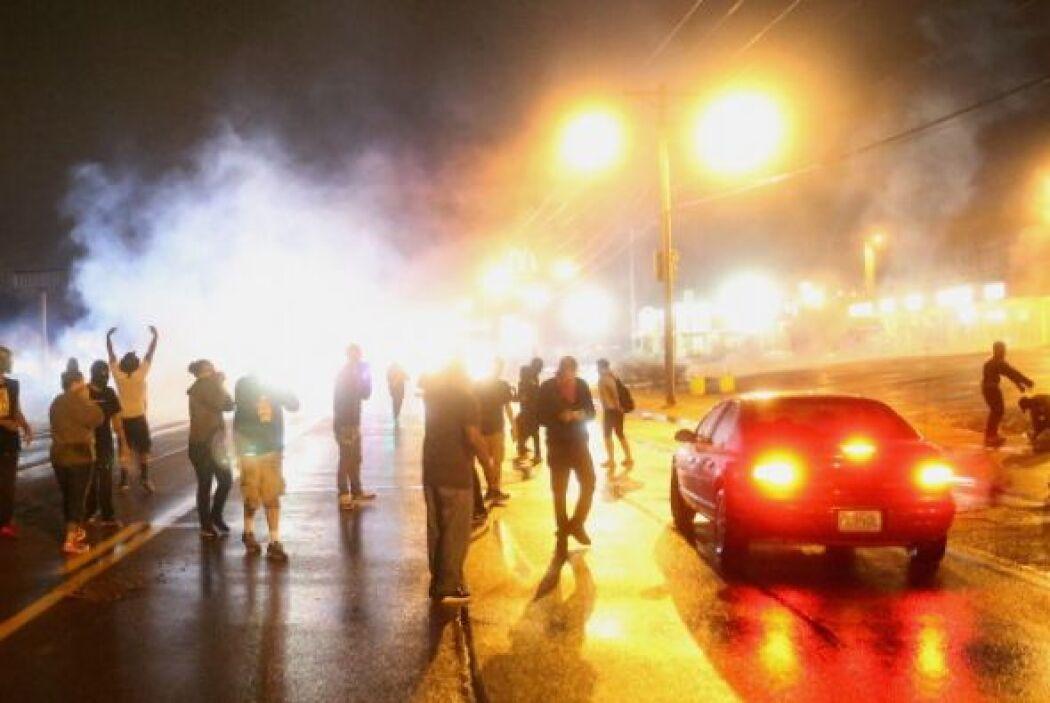 Al menos una persona resultó herida y otras siete fueron detenidas duran...