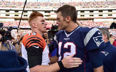 Patriots de Brady se impusieron a los Bengals de Dalton