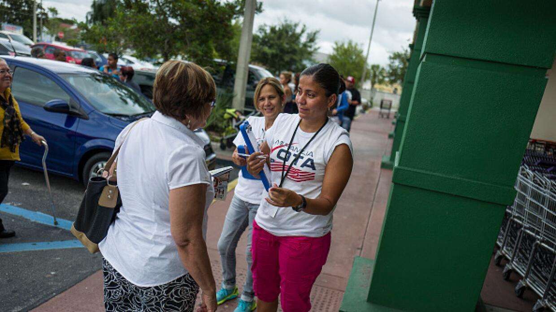 Votantes hispanos