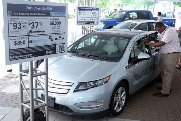 Comenzando con vehículos modelo del año 2013, las nuevas etiquetas deber...