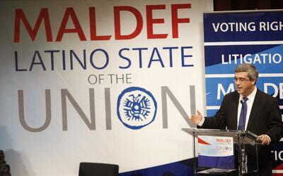Maldef, excluida de una reunión entre líderes latinos y equipo de transi...