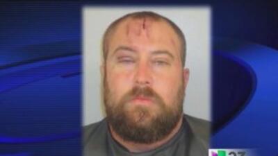 Daniel Allen Noble fue arrestado tras llegar a un bar de la Florida, ves...