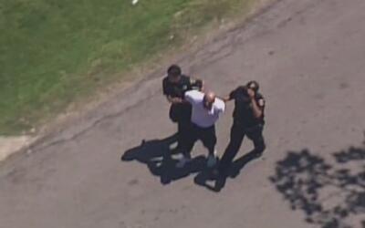 Una persecución policiaca culminó con el arresto de un hombre en el nort...