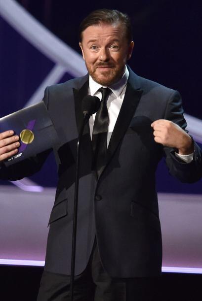 La lista de Jackman no fue nada corta y a esta se añadió a Ricky Gervais.