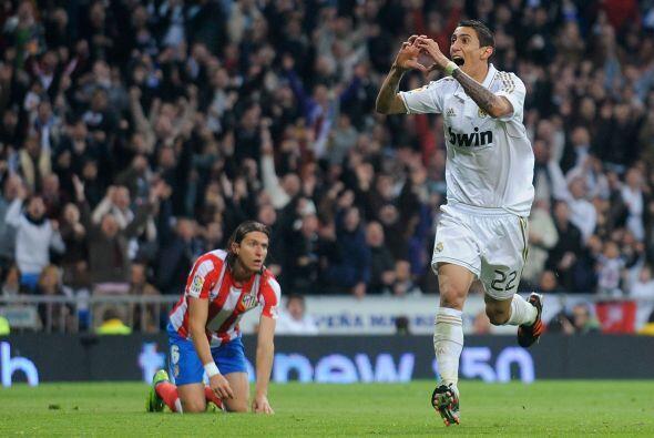 Y el argentino Angel Di María lo aprovechó para decretar el 2 a 1.