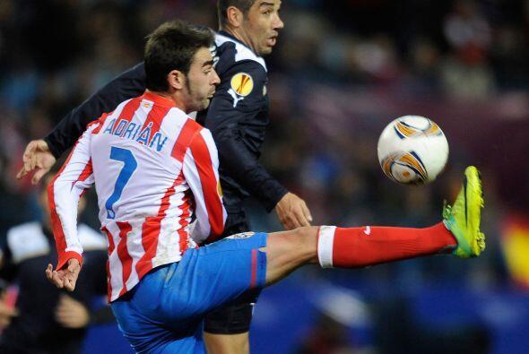 El Atlético de Madrid recibió a la Lazio con la ventaja conseguida en el...