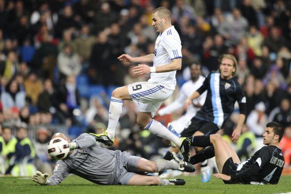 El francés Karim Benzema había colocado el 1-0, pero una p...