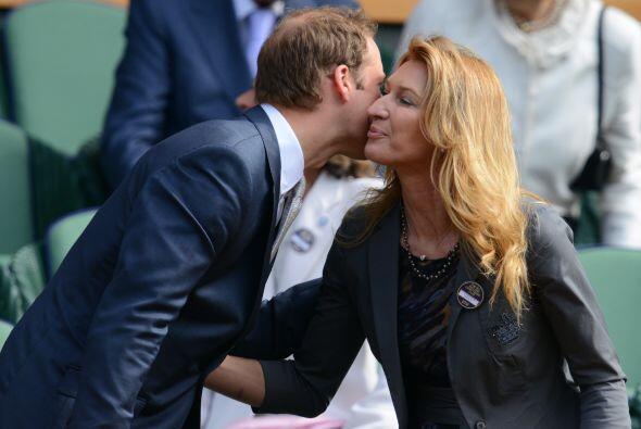 El príncipe William coincidió en la cancha central con la siete veces ga...