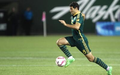 Diego Valeri, la manija de Portland Timbers.