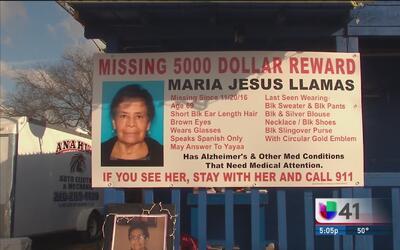 Familiares piden apoyo para continuar la búsqueda de María Llamas