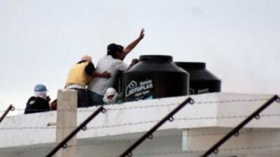Miembros de dos bandas criminales en el balneario mexicano de Cancún (Qu...