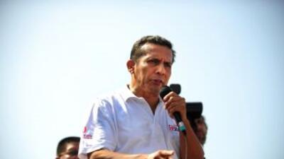Ollanta Humala, presidente de Perú.