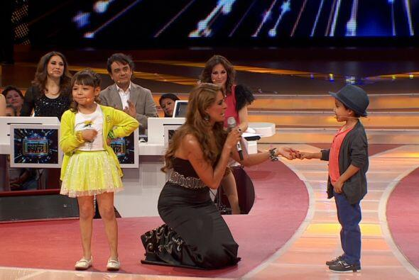 Monserrat demostró que tiene talento para las telenovelas, pues l...