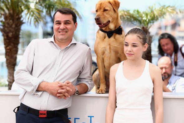 Teresa fue quién se encargó de entrenar a los dos perros (...