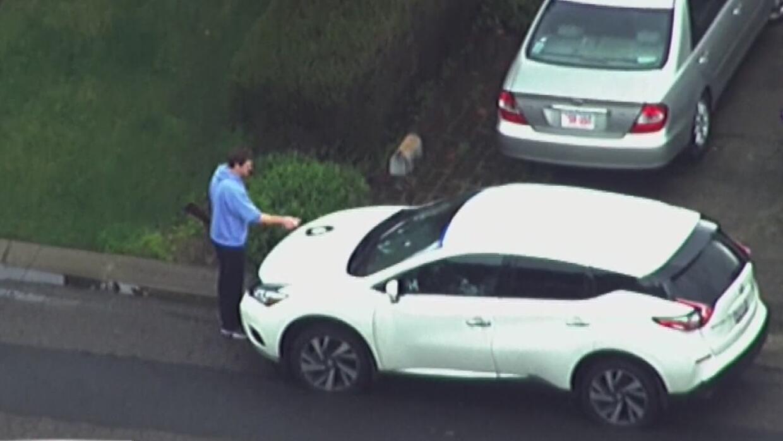 Capturan a sospechoso armado que pintaba grafitti obscenos en Oakland