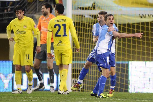 Al minuto 82 llegó la recompensa para el Málaga con el tan...