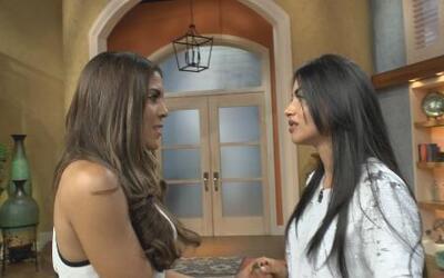 En los comerciales: Abrazos y besos a Jessica luego de sus fuertes confe...
