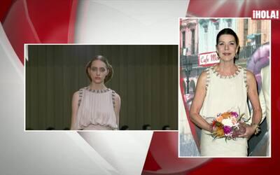 Los bellos looks de Carolina y Carlota de Mónaco
