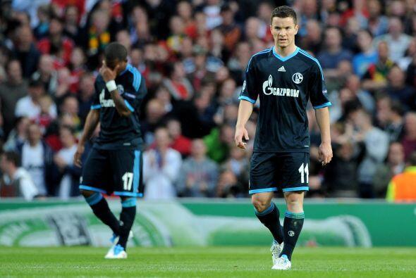 Ya no hubo tiempo para más, el Schalke lo intentó pero fue superado con...