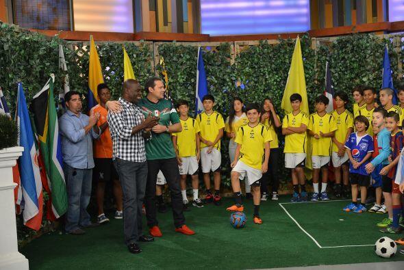Luis Carlos Perea, ex mundialista de la Selección colombiana, fue el enc...