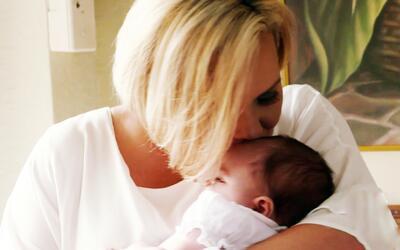 Soñaba con ser madre y lo logró a través de un donante de esperma