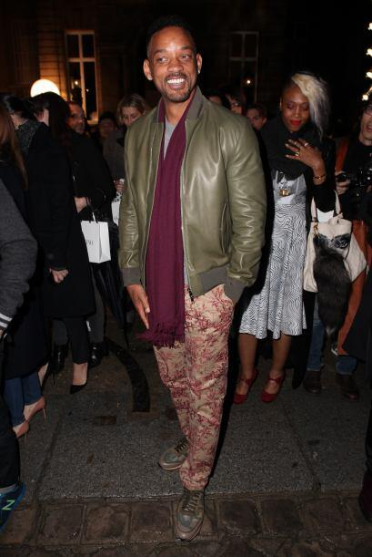 Otro famoso 'fashionista' que no se pierde este semana es Will Smith. Co...