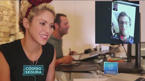 Shakira estrenó hoy 'Chantaje' y así sorprendió a un fan
