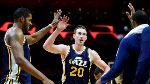 Gordon Hayward es la estrella y cara de los repotenciados Jazz de Utah.