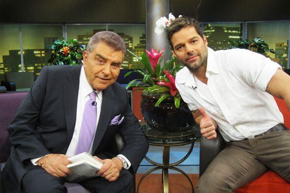 Tras recibir la máxima distinción en Premio Lo Nuestro, Ricky Martin se...
