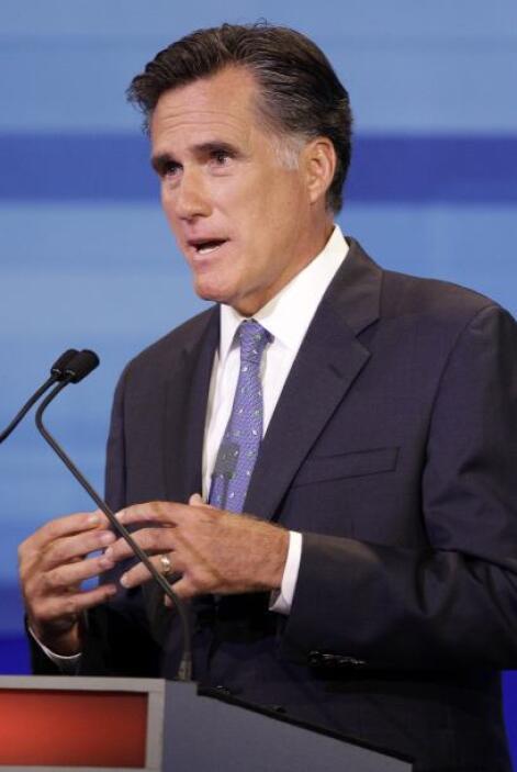 Romney protagonizó muchos actos de altruísmo, desde financiar los estudi...
