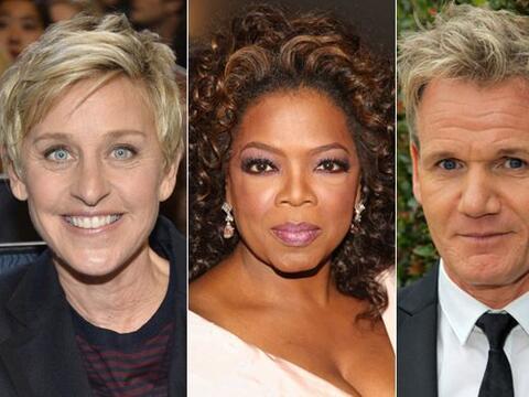Según la revista 'Forbes', Oprah Winfrey, Ellen DeGeneres y Simon...