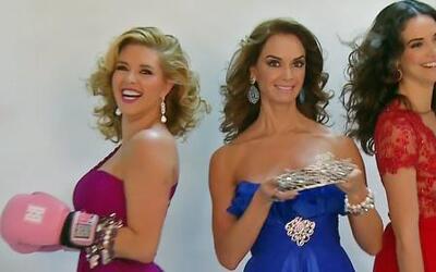 Alicia, Denisse y Lupita ya tienen corona, pero quieren otra